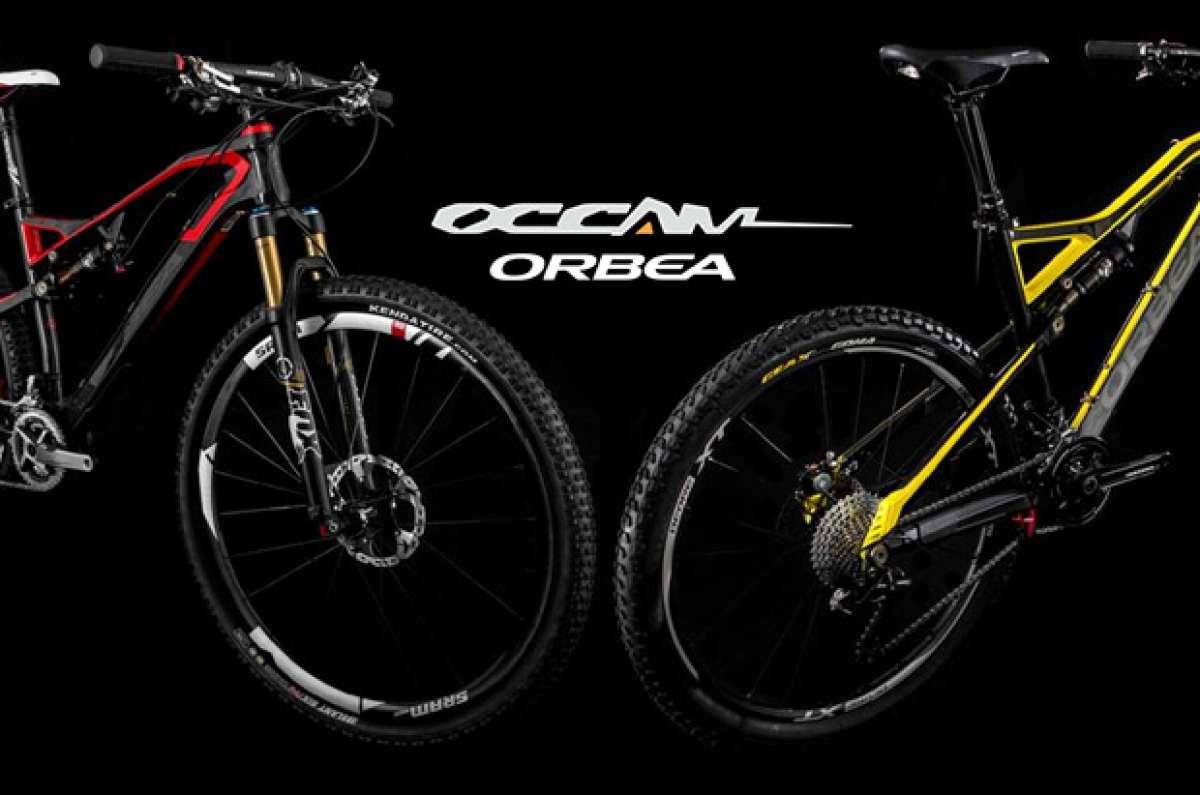 Nuevas y llamativas decoraciones para la Orbea Occam de 2014
