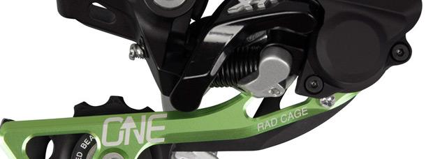 OneUp Components RAD Cage: Una pletina para adaptar cambios de Shimano a piñones de 40 y 42 dientes
