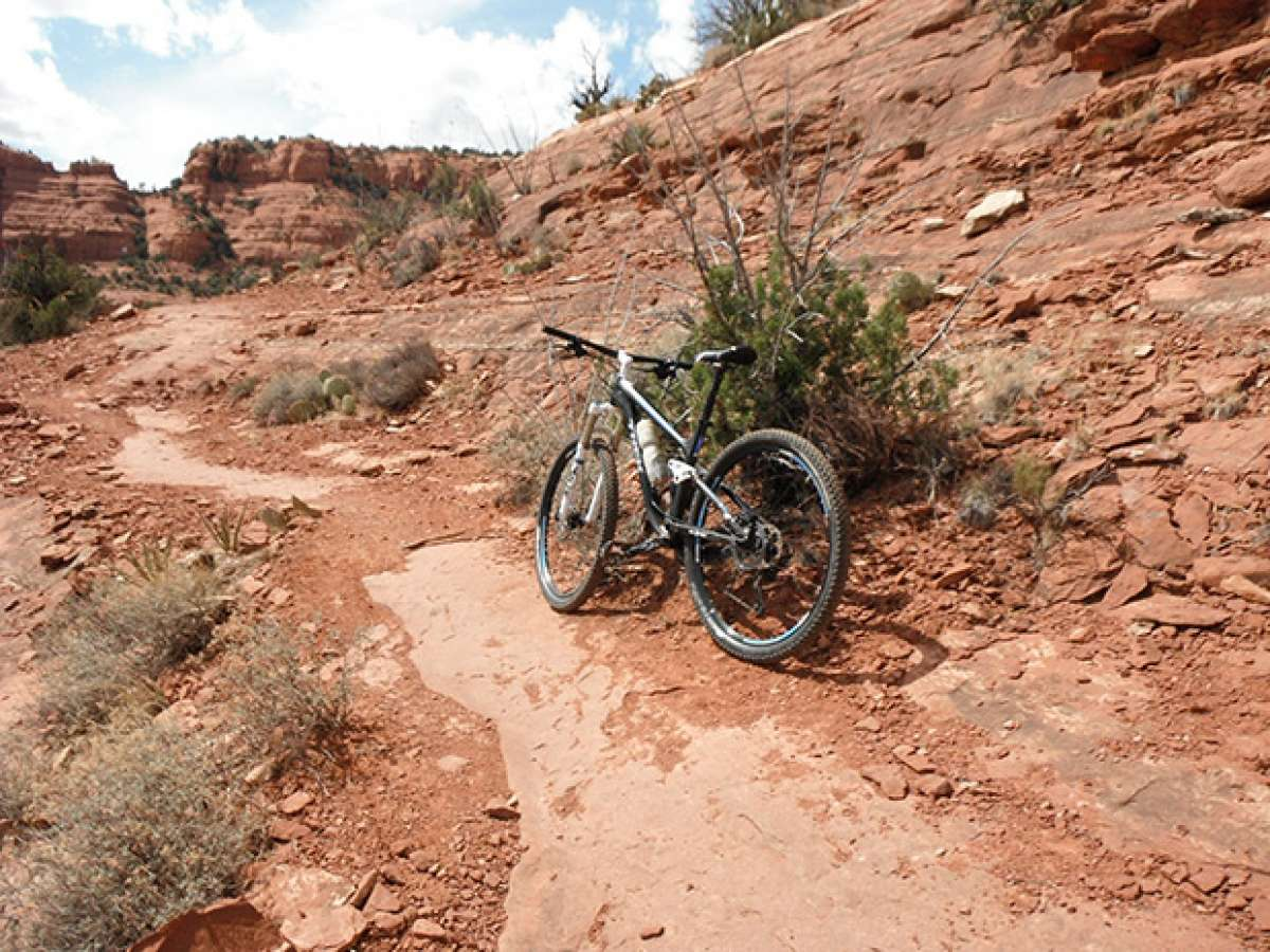 """La foto del día en TodoMountainBike: """"Mescal Trail de Sedona (Arizona, EUA)"""""""