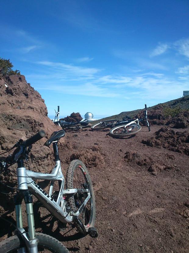 """La foto del día en TodoMountainBike: """"Bike Trip en La Palma"""""""