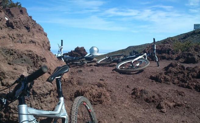 La foto del día en TodoMountainBike: 'Bike Trip en La Palma'