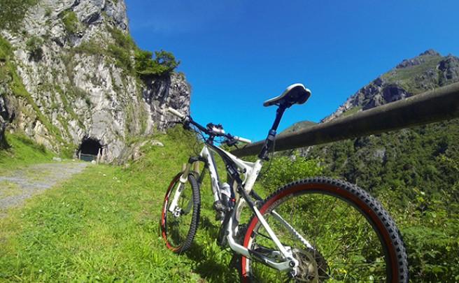 La foto del día en TodoMountainBike: 'Senda Verde de Lloreo (Loredo, Asturias)'