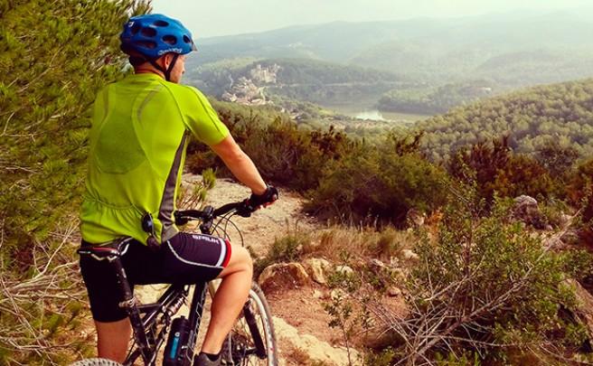 La foto del día en TodoMountainBike: 'Desde las alturas del Pantano de Foix'