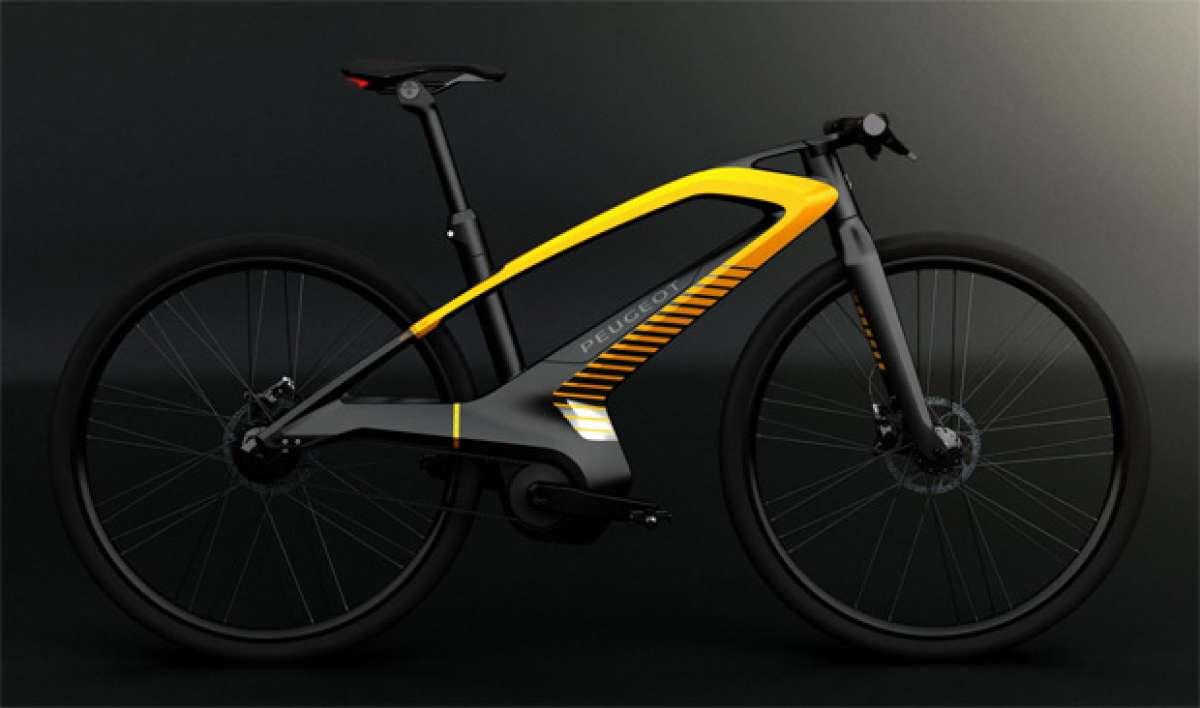 EDL 132 Concept Bike: El futuro de las bicicletas eléctricas según Peugeot