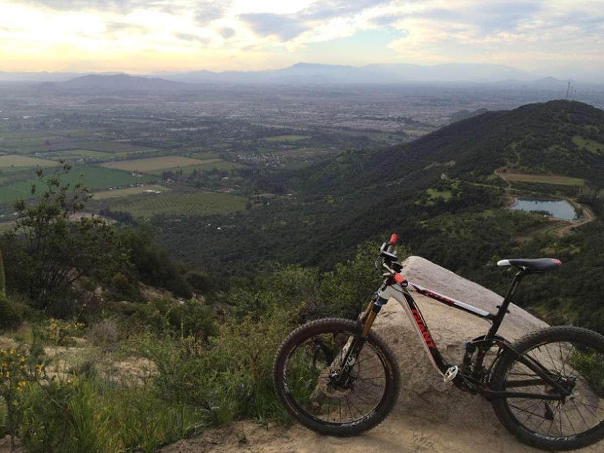 La foto del día en TodoMountainBike: 'En las alturas de Pirque'
