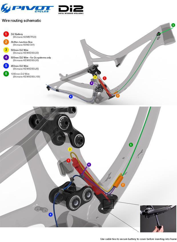 Menos gramos y más tecnología para la nueva Pivot Mach 429SL Carbon de 2015
