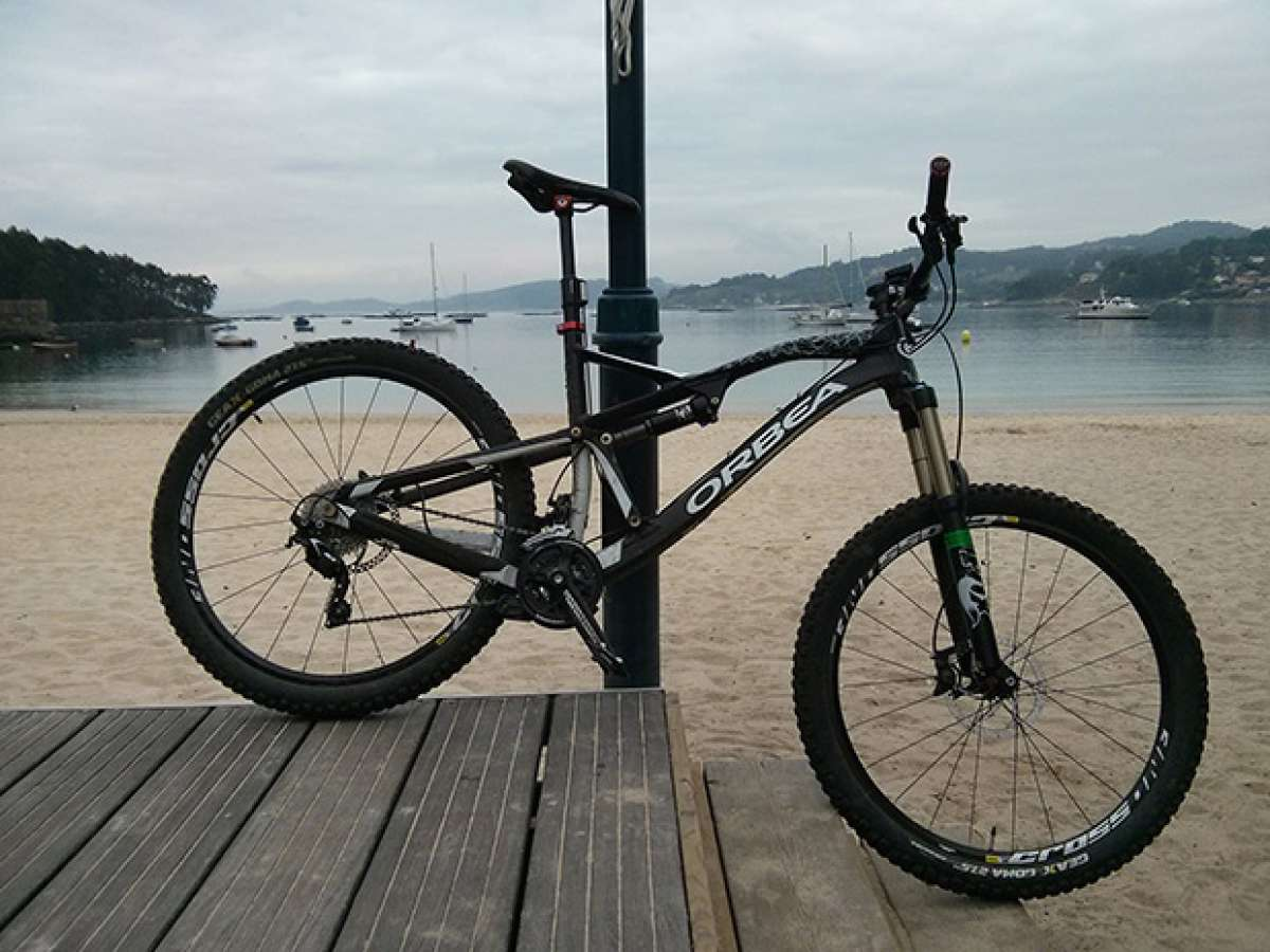 La foto del día en TodoMountainBike: 'La Playa de Arneles'