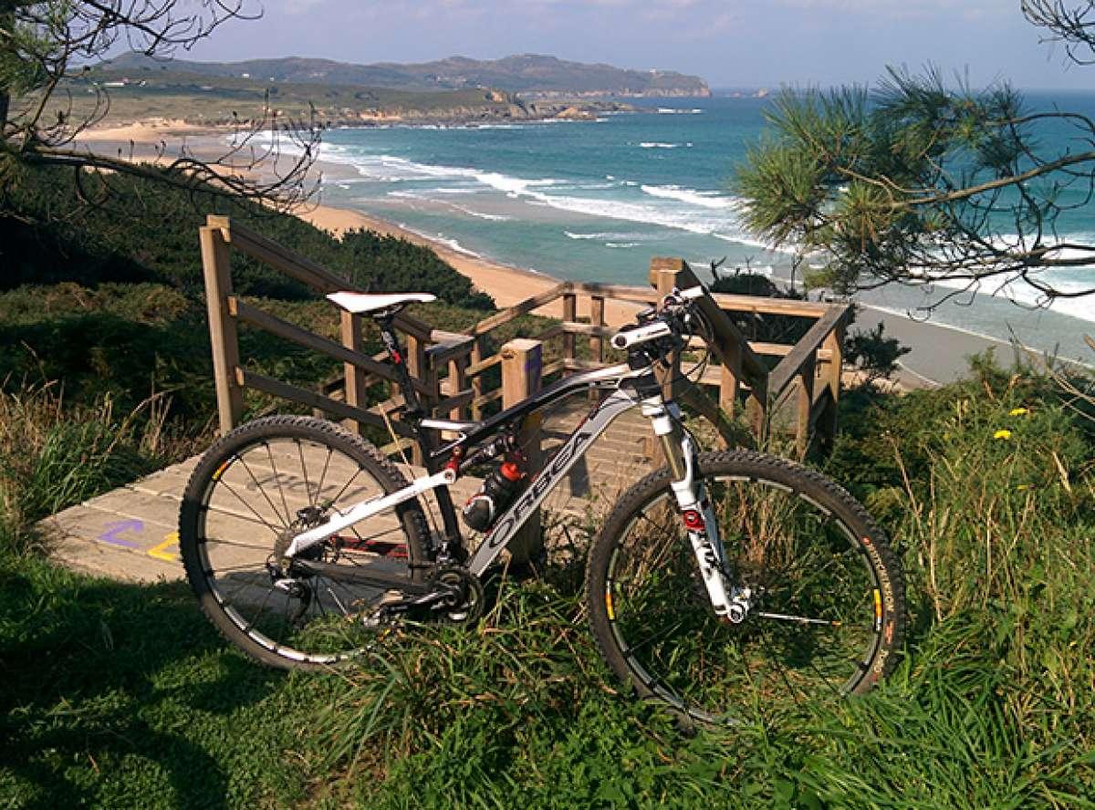 La foto del día en TodoMountainBike: 'A ruta ártabra'