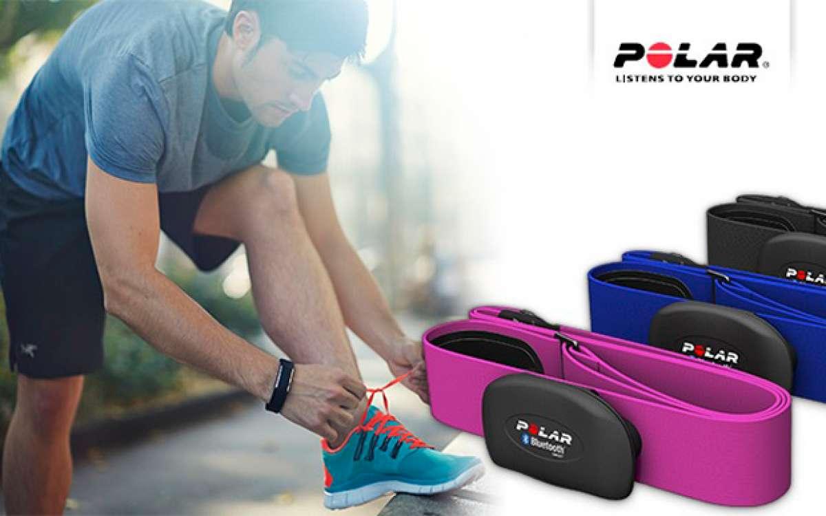 Nuevos colores para las bandas de pecho H7 HR Sensor de Polar