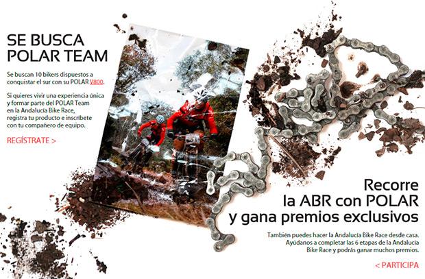 Se busca 'POLAR Team': Sorteo de 10 plazas para la Andalucía Bike Race 2015