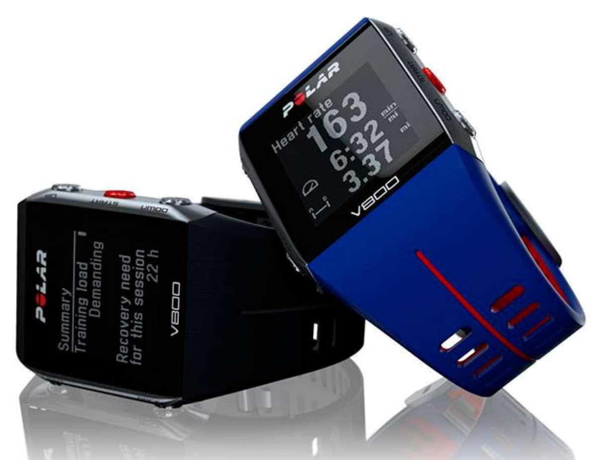 """Polar V800, ahora disponible con un nuevo color en la llamativa edición """"Blue Edition"""""""