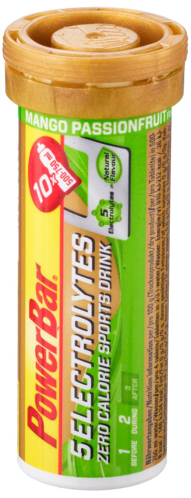 PowerBar 5 Electrolytes: Bebida deportiva en tabletas con cero calorías