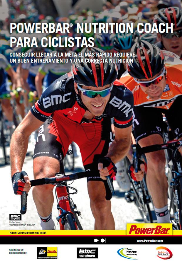 Nueva e interesante guía de nutrición de PowerBar para ciclistas