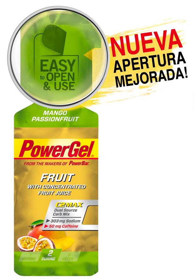 Nuevo sistema de apertura para los PowerGel de PowerBar