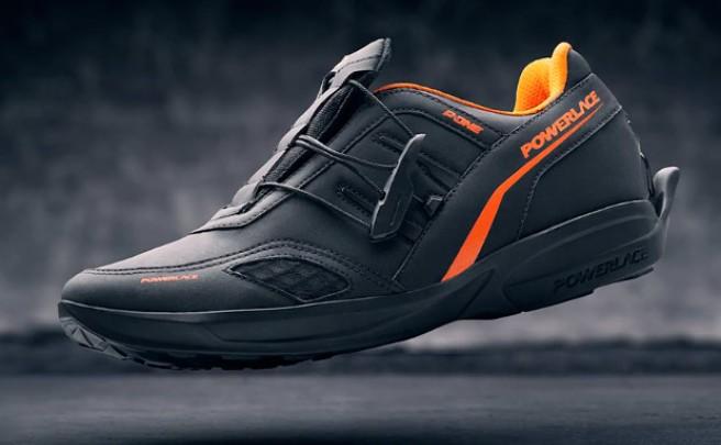 Powerlace, unas innovadoras zapatillas que se ajustan de forma automática