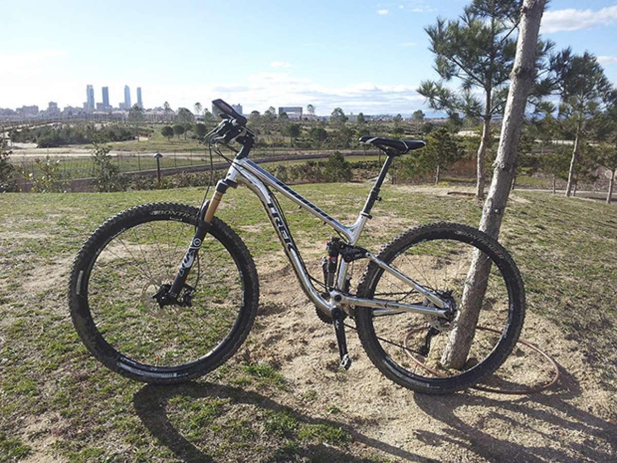 La foto del día en TodoMountainBike: 'Una Trek Fuel EX 9 29 en Madrid'