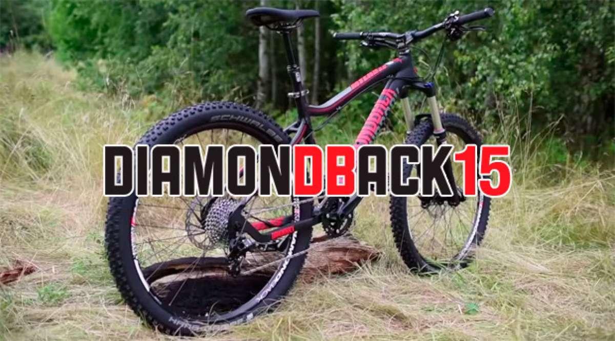 Diamondback 2015: Presentación de la nueva gama de bicicletas de montaña