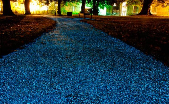 Pro-Teq Starpath: Pavimento iluminado de forma autónoma para vías ciclistas