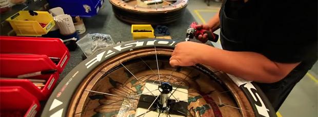 Así se fabrican las ruedas de carbono de Easton Cycling