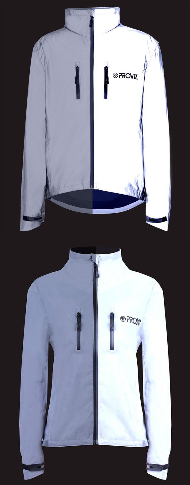 Proviz REFLECT360, una interesante chaqueta de alta visibilidad para ciclistas