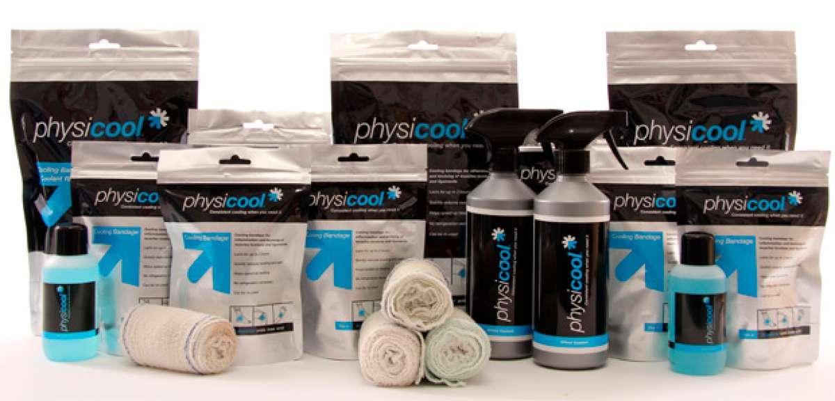 Physicool, un nuevo vendaje compresivo con efecto frío