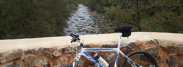 La foto del día en TodoMountainBike: 'Puente sobre la garganta Jaranda'