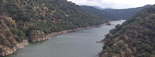 La foto del día en TodoMountainBike: 'Cruzando el río Tajo'