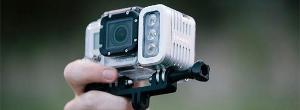 [Qudos] Action, un compacto foco LED para cámaras de acción
