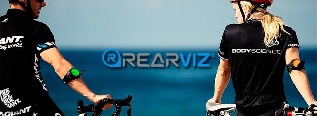 RearViz, brazaletes para ciclistas con espejos retrovisores y soportes para cámaras de acción