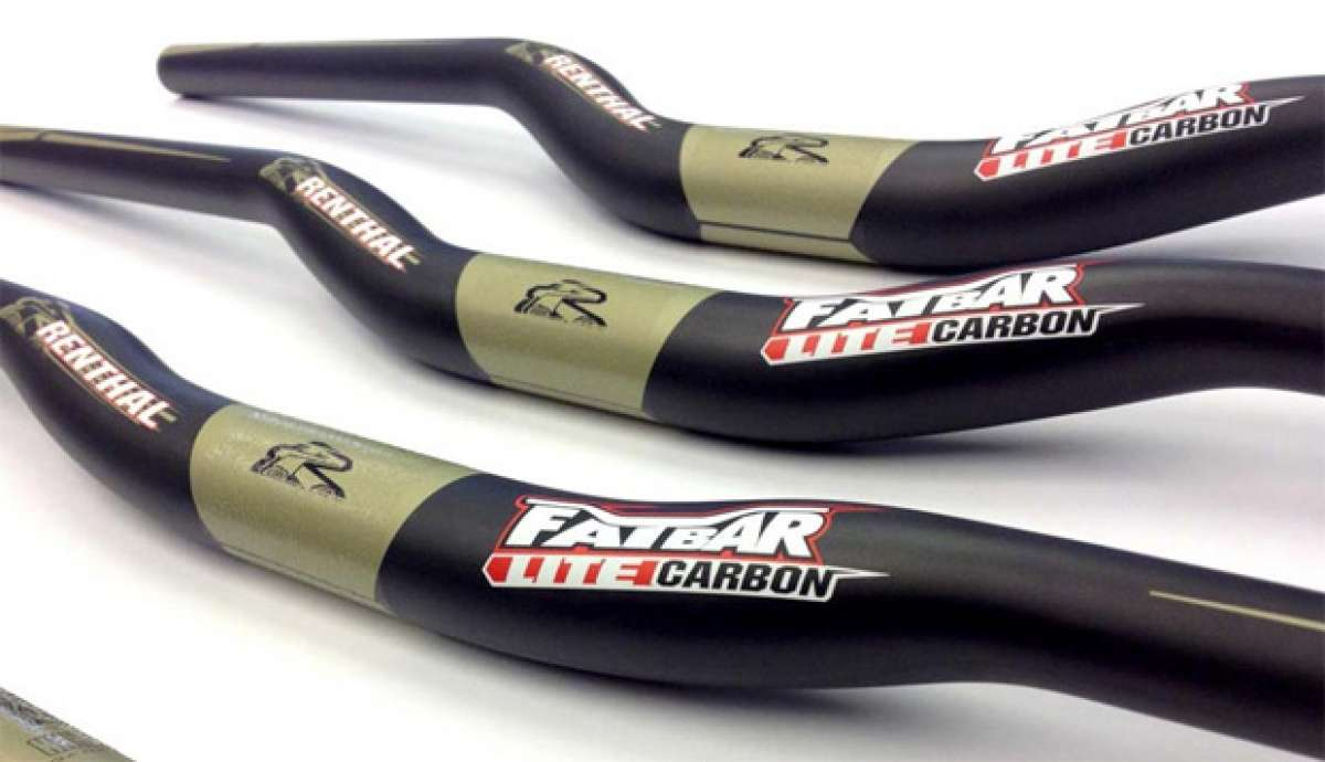"Manillares Renthal Fatbar Lite: Fibra de carbono ""for the people"""