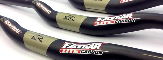 Manillares Renthal Fatbar Lite: Fibra de carbono 'for the people'
