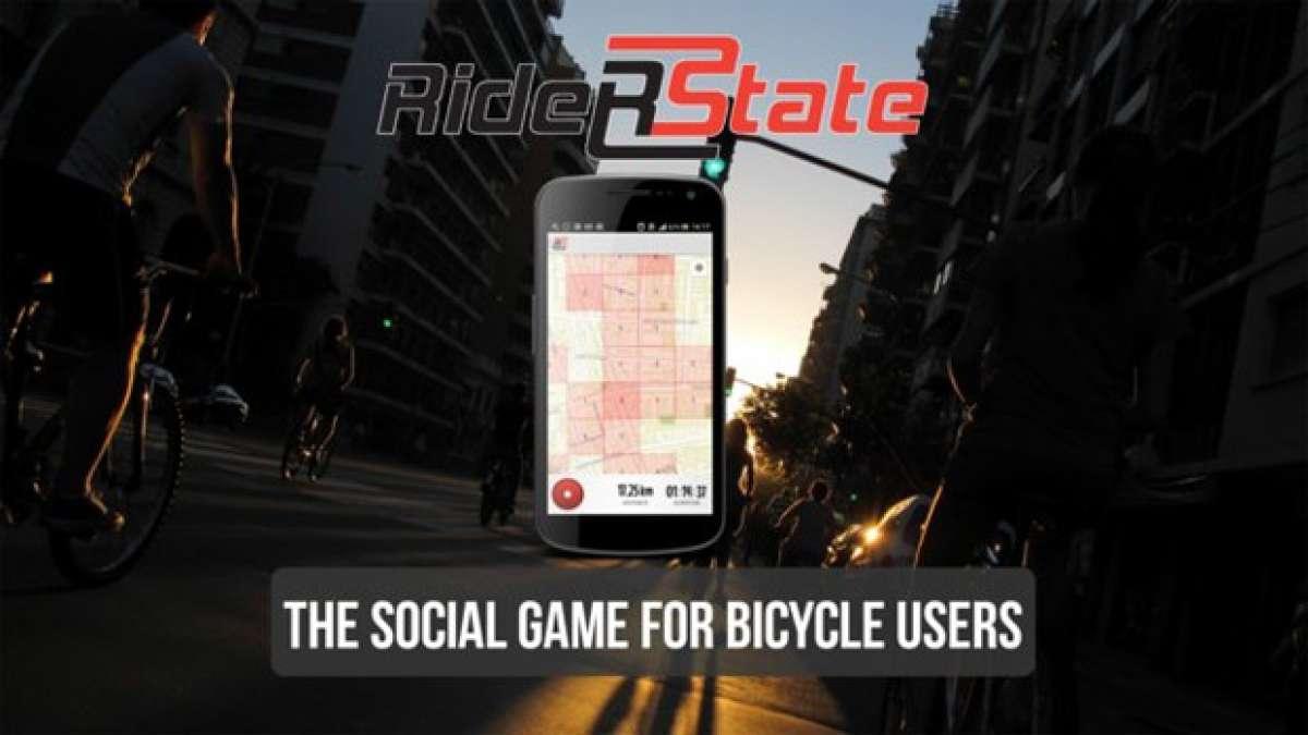 RiderState: Una aplicación móvil para entrenar... y conquistar el mundo en bicicleta