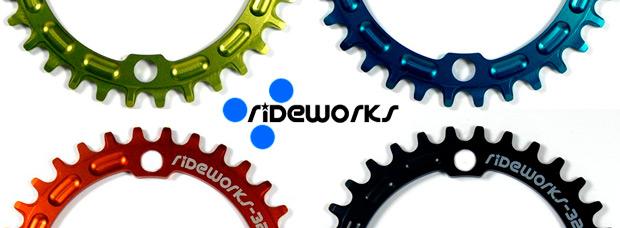 Nuevos platos de Rideworks con perfil específico para transmisiones monoplato
