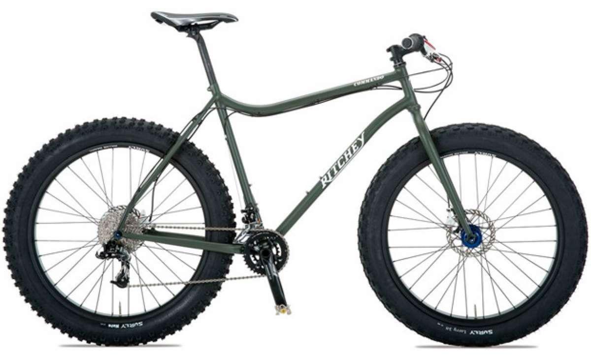 """Ritchey Commando, una agresiva """"Fat Bike"""" para rodar sin límites"""