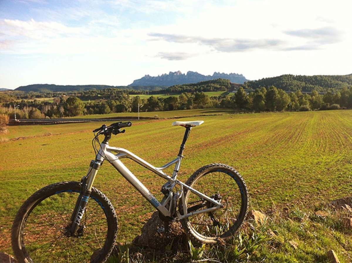 """La foto del día en TodoMountainBike: """"Montañas de Montserrat"""""""