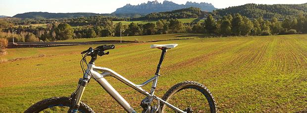La foto del día en TodoMountainBike: 'Montañas de Montserrat'