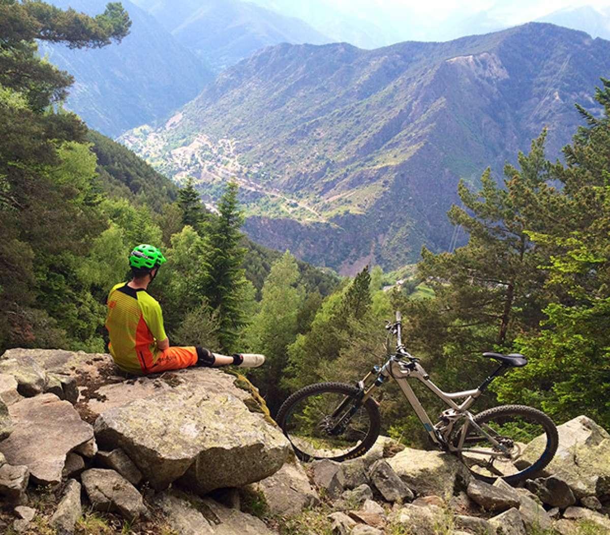 La foto del día en TodoMountainBike: 'Ruta por Andorra'