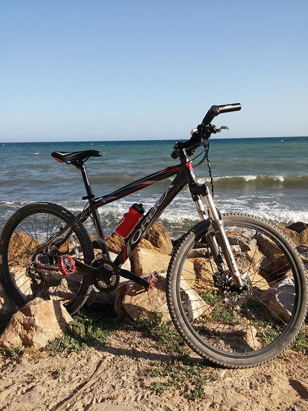 La foto del día en TodoMountainBike: 'En Torrevieja (Alicante)'