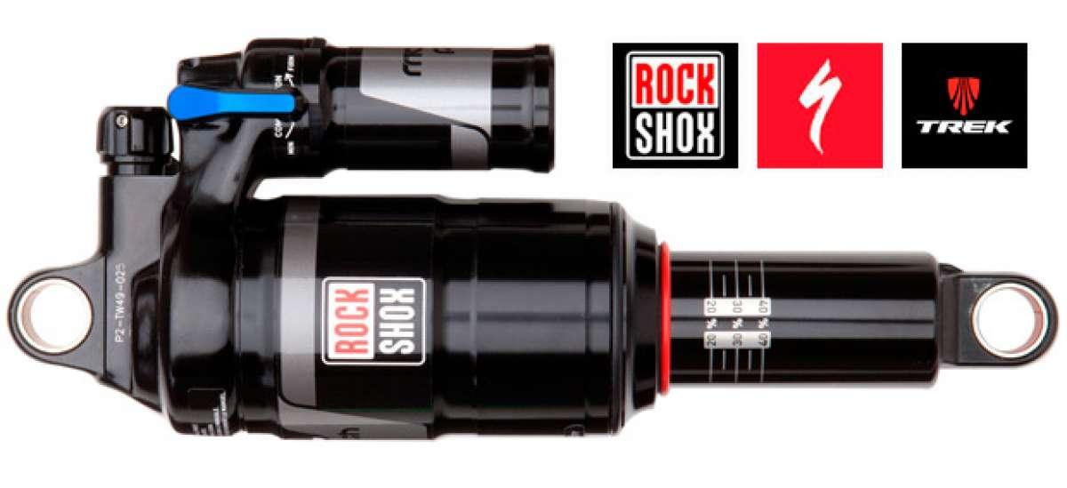 RockShox Monarch y Monarch Plus, ahora con configuraciones específicas para bicicletas Trek y Specialized