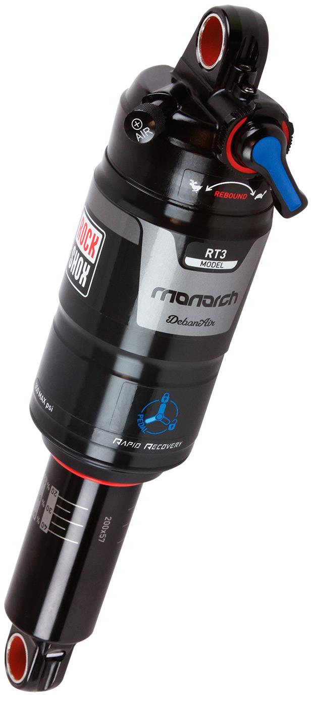 Amortiguadores RockShox Monarch DevonAir: Más ligeros, más sensibles y más eficientes que nunca
