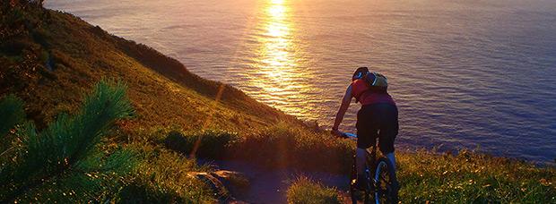 La foto del día en TodoMountainBike: 'El Monte Ulía'