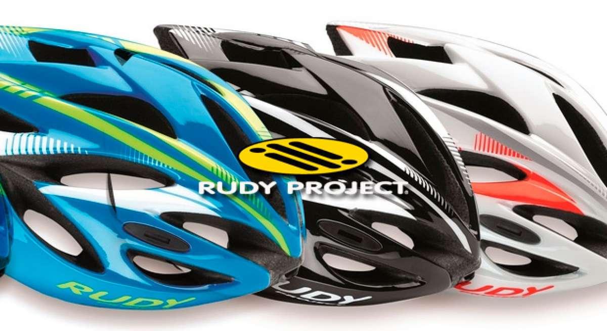Rudy Project Rush, el nuevo casco de entrada de gama de la firma italiana