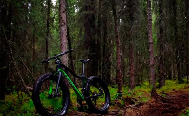 Rodando en Alaska con una 'Fat Bike' de 9:ZERO:7