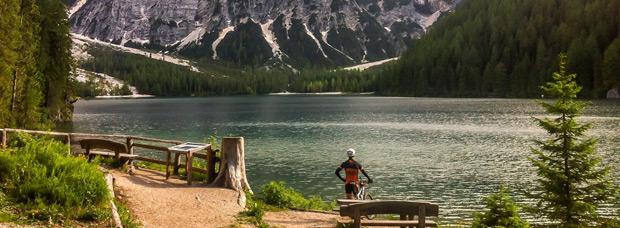 La foto del día en TodoMountainBike: 'Grande Ronda Dolomiti'