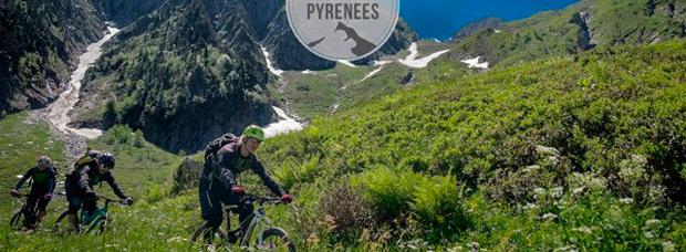 Practicando Mountain Bike en el maravilloso Valle de Benasque (Huesca, España)