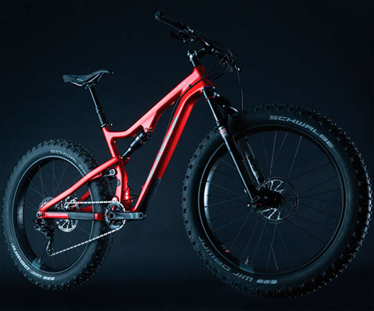 Bucksaw Carbon, doble suspensión y cuadro de carbono para la nueva 'Fat Bike' de Salsa Cycles