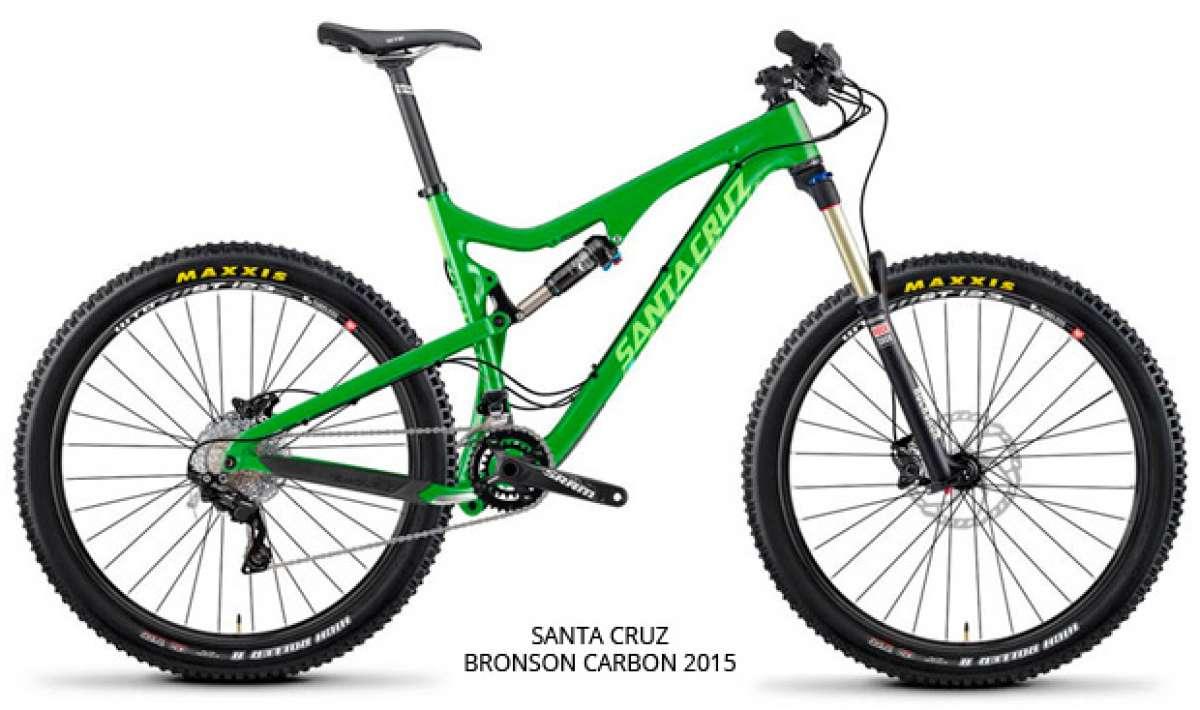 """Cuadros de carbono """"más económicos"""" para los modelos Santa Cruz Bronson, Santa Cruz 5010 y Santa Cruz Tallboy de 2015"""