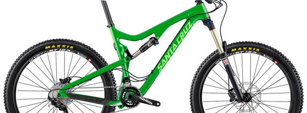 Cuadros de carbono 'más económicos' para los modelos Santa Cruz Bronson, Santa Cruz 5010 y Santa Cruz Tallboy de 2015