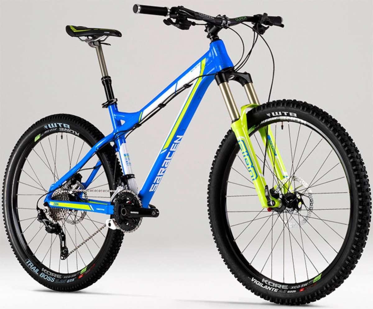 Saracen Zen 2015: Una bicicleta rígida para subir bien... y bajar mejor