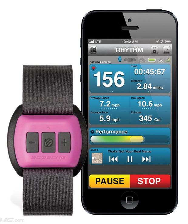 Scosche Rhythm: Un práctico sensor de frecuencia cardíaca para nuestro brazo